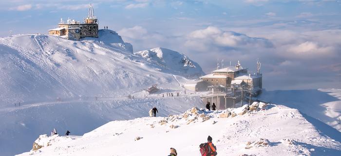 Zakopane atrakcje: Kasprowy Wierch zimą