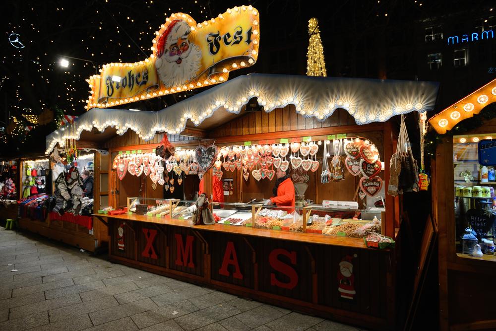 jarmark bożonarodzeniowy w Niemczech