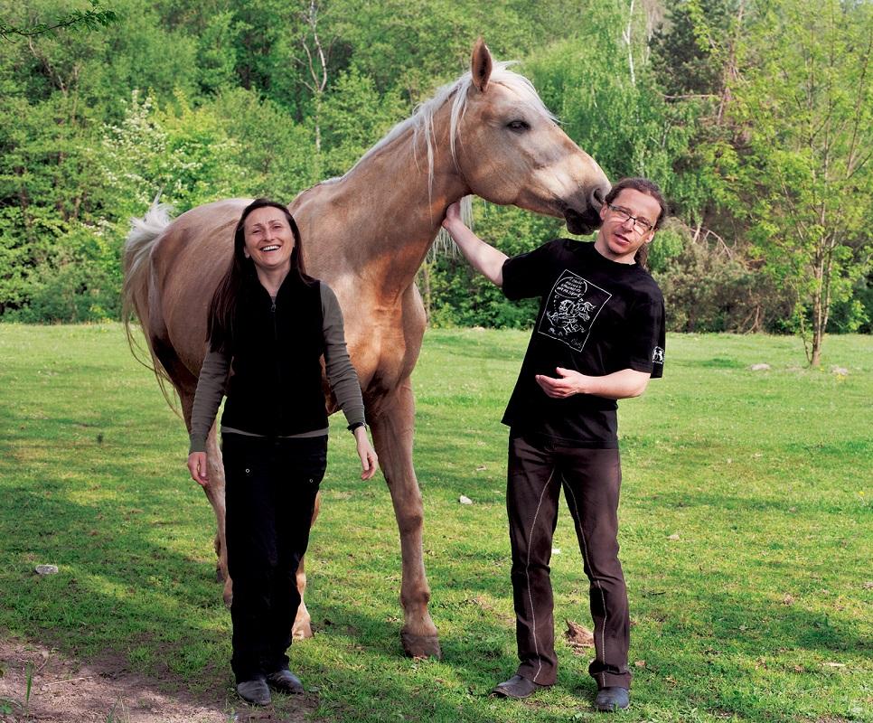Ewa, Sebastian i ich podopieczny z Polanki