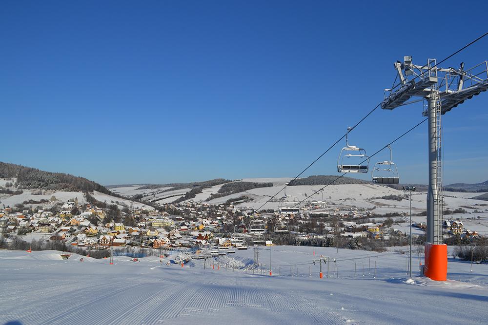 Wyciąg narciarski w Tyliczu